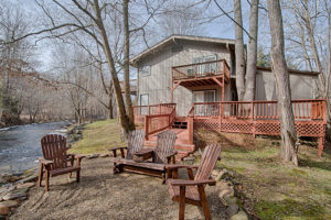 Creekside, Fire Pit, Maggie Valley, Vacation Rental