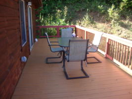 A Starry Night, Deck with Dining Area