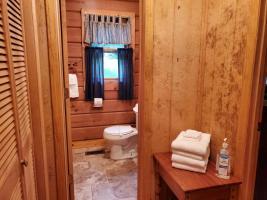 Hallway into Bathroom
