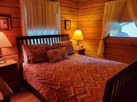 Queen Bedroom View to Window