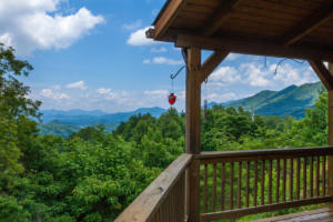 Apple Blossom Cabin View