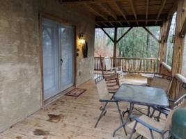 Cardinal Suite, Deck with Seating and Rockers