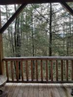 Cardinal Suite, Deck with Wooded Mountain View