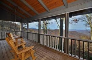 Front Deck with view