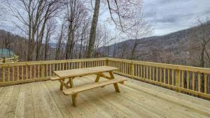 Picnic Table on Deck