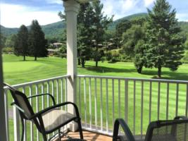 Par Three, View of Golf Course from Master Bedroom Porch