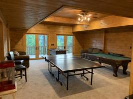 Serenity Mountain Retreat Game Room