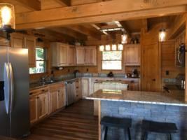 Serenity Mountain Retreat Kitchen