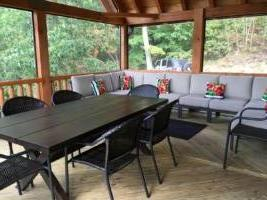 Serenity Mountain Retreat Screened Porch