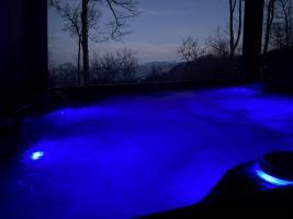 Dusk Hot Tub 2