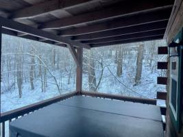 Hot Tub Winter View