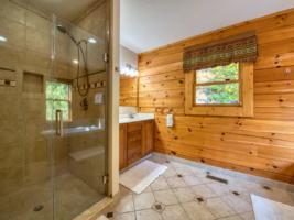 Master Bathroom, Shower and Sink