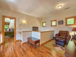 Lofted Sitting Room, facing Bear Room