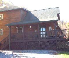 Mountain Retreat cabin and driveway