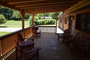 NEW Cabin Porch